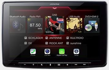 Alpine iLX-F903D Autoradio med Apple CarPlay, Android Auto og DAB+