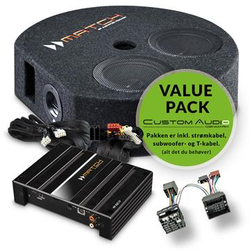 Match Digital lydpakke m. DSP og subwoofer